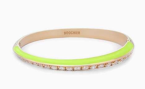 Neon-Toned Luxury Jewelry