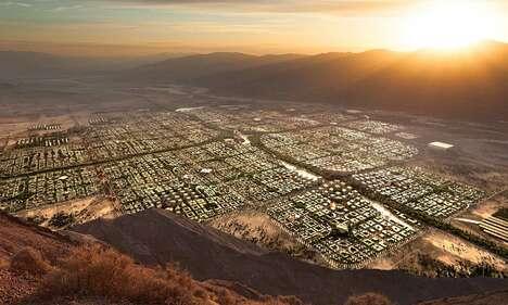 Futuristic Desert City Concepts