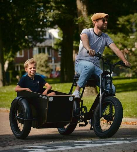 Aftermarket Cyclist Sidecar Carriers
