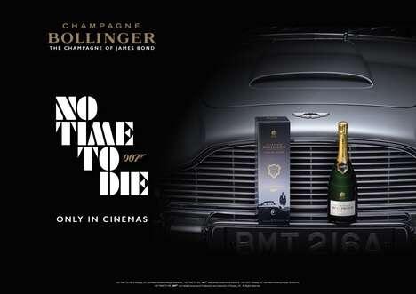 Spy Film-Inspired Champagnes