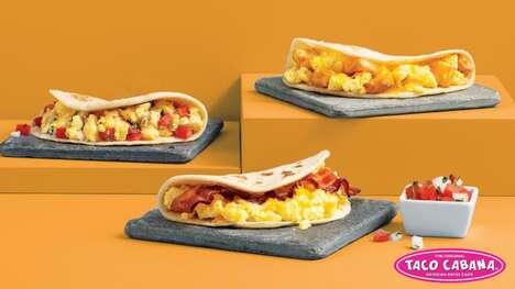 Egg-Based Breakfast Tacos