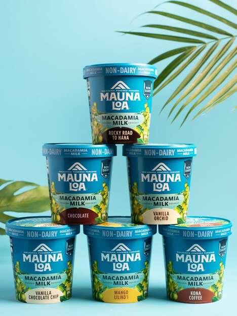 Macadamia Milk Ice Creams