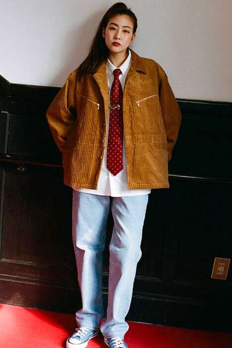 Automotive-Themed Fall Outerwear