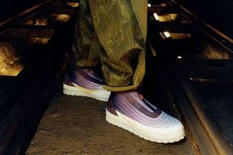 Tactile Technical Footwear Designs