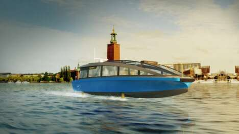 Above-Water Hydrofoil Ferries
