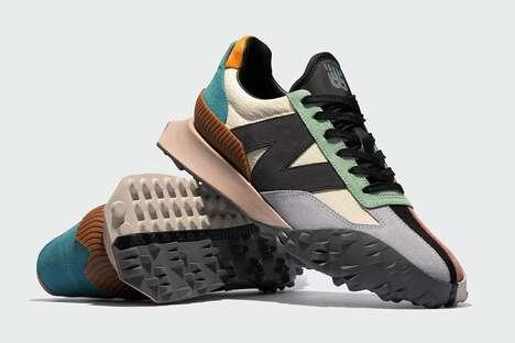 Multicolored Suede Sneakers