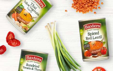 Plant-Based Canned Soups