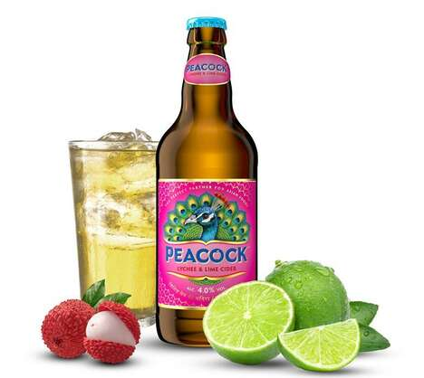 Charitable Lychee-Flavored Ciders