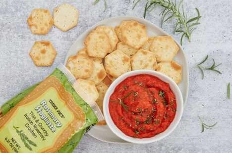 Thin Hexagonal Crackers