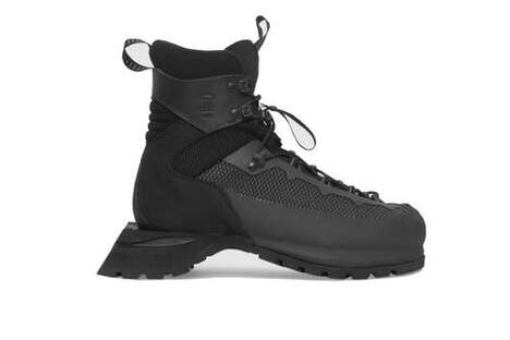 Extended Sole Hiking Boots