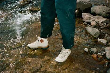 Amazon-Inspired Trail Footwear