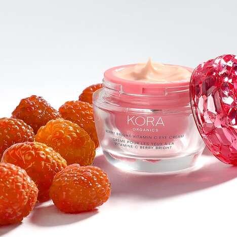 Berry-Powered Refillable Eye Creams