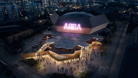 Transportable Hexagonal Concert Arenas