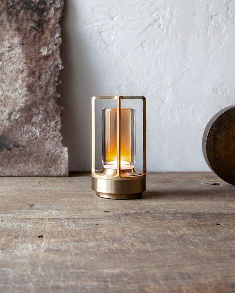 Rechargeable Artisanal Lamps
