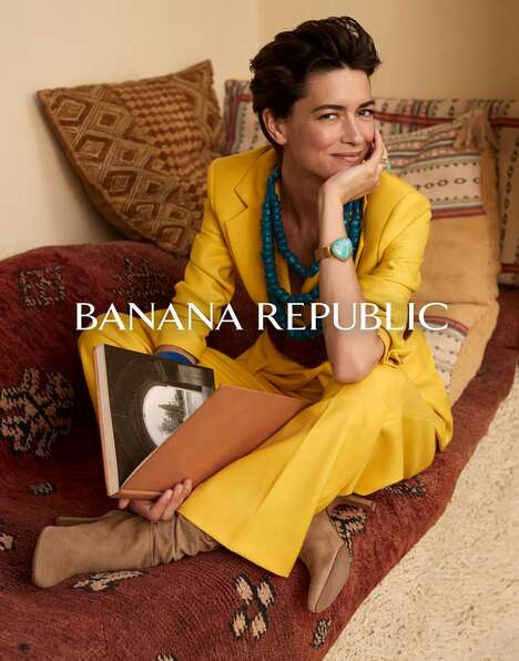 Contemporary Fashion Rebranding Campaigns