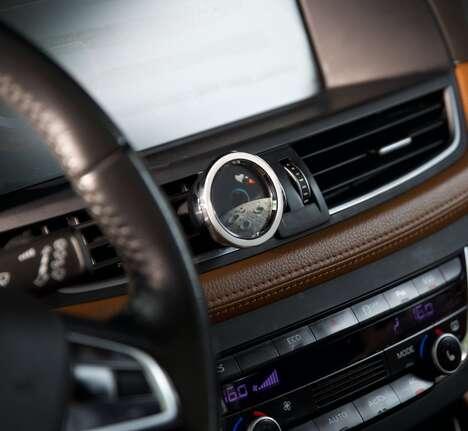 Car-Freshening Phone Holders