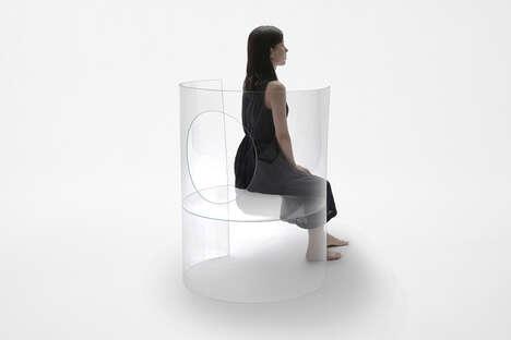 Minimalist Inverted Chair Designs