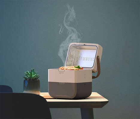 Self-Contained Portable Meal Heaters