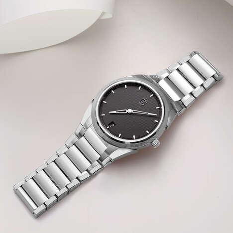 Intricately Designed Platinum Watches