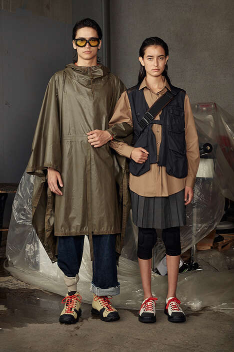 Utility-Focused Fashion Collections