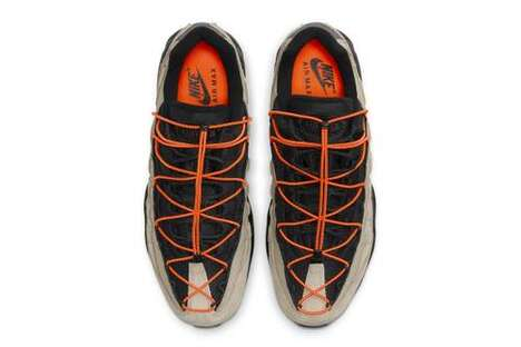 Quick-Laced Elastic Sneakers