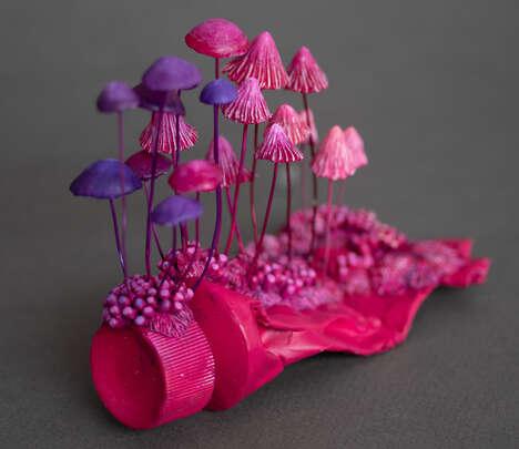 Post-Apocalyptic Plant Sculptures