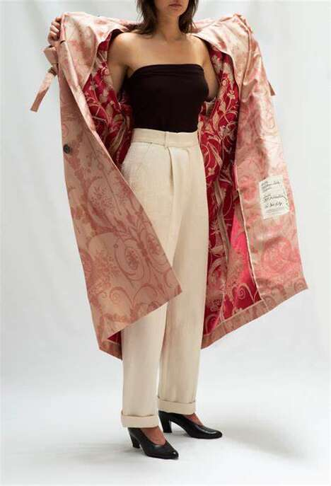 Upcycled-Textile Outerwear Lines