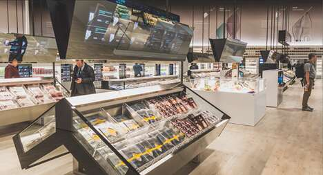 App-Monitored Futuristic Supermarkets
