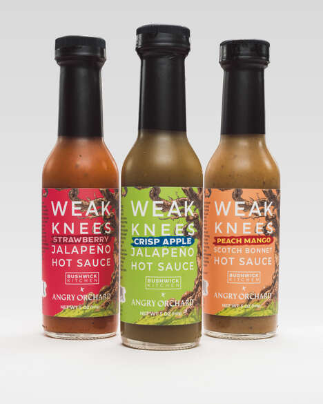 Cider-Inspired Hot Sauces