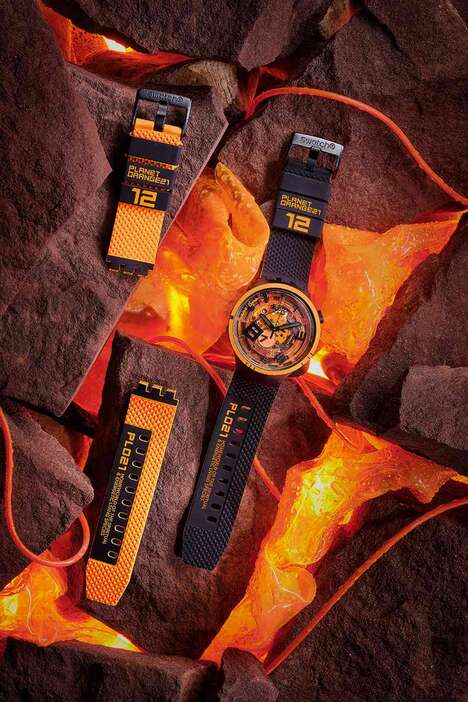 Iridescent Alien-Inspired Watches