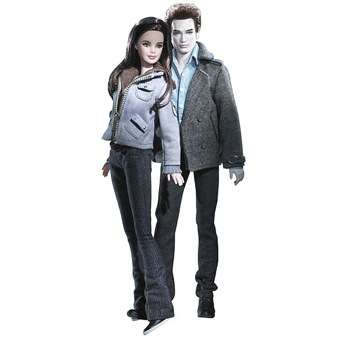Vampire Barbies - Twilight Dolls Replicate Robert Pattison and Kristen Stewart
