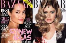 High Fashion Tabloids? - Harper's Bazaar July 2009 Cover Uses Angelina Jolie Paparazzi Shot