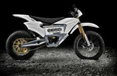 Spaceship Bikes - Former NASA Engineer Designs Formidable Zero MX Motorcycle