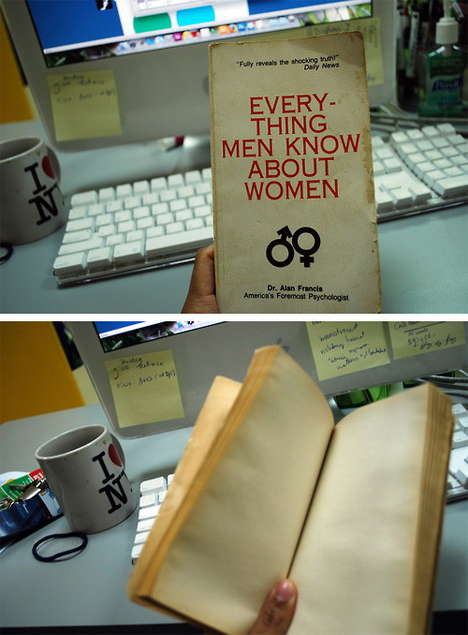 Blank Books - 'Everything Men Know about Women' Makes a Cheeky Gift Idea