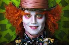 Victorian Fantasy Portraits - Johnny Depp Gets Tim Burton Touch in Alice In Wonderland