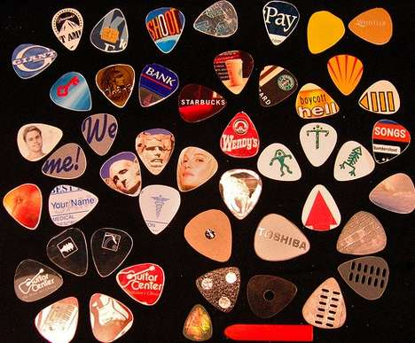 Making Sweet Music and Guitar Picks With Old Plastic
