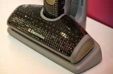 Crystalized Vacuums - $20,000 Swarovski Electrolux Makes Cleaning Glam
