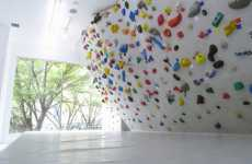 Colourful Climbing Walls - PekiPeki in Tokyo Lets Customers Enjoy Bright Bouldering