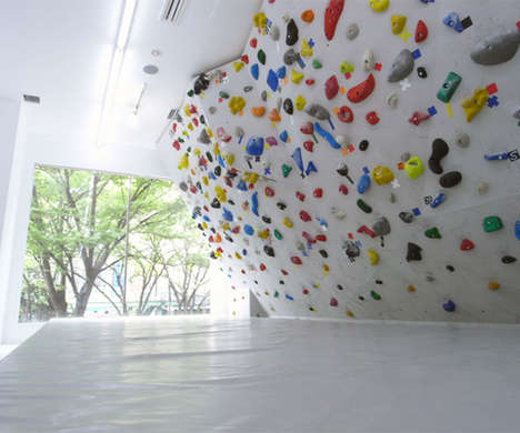 Colourful Climbing Walls