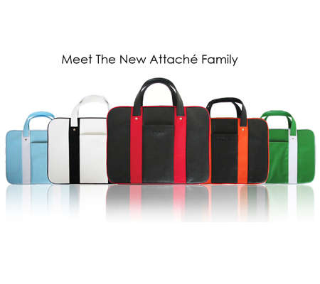Chic Laptop Cases - Flickz Launches Sleek Attache Collection