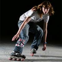 Inline Skating Slalom