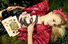 Alice-Inspired Fashion - 'Wonderworld' Adventures Editorial by Andreas Stavrinides
