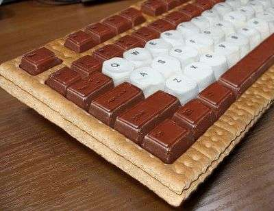Edible Keyboards