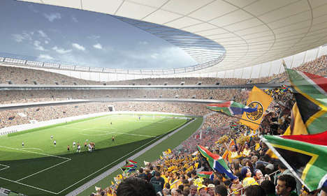 Mega Stadium Transformations - The Green Point Stadium Wows Crowds in Style