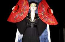 Futuristic Geishas - 'Techno Orientalism' is an Avant-Garde Photographic Wonderland