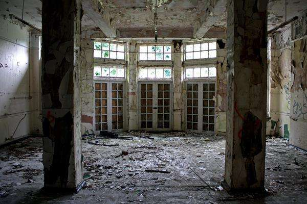 Dilapidated Hospital Photography