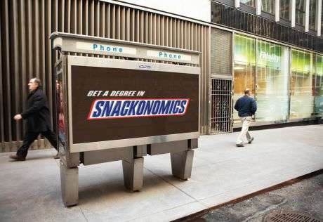 Fictional Wordvertising - Snickers Creates New Words For Delicious Ad Campaign