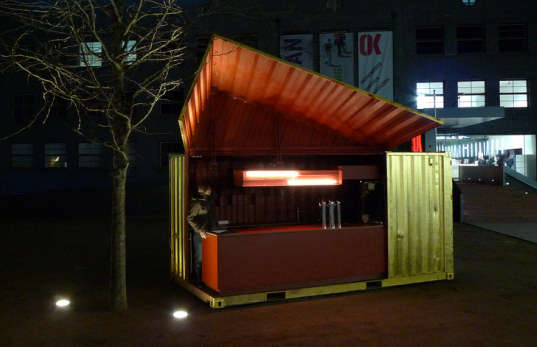 Gold-Plated Pop-Up Bars