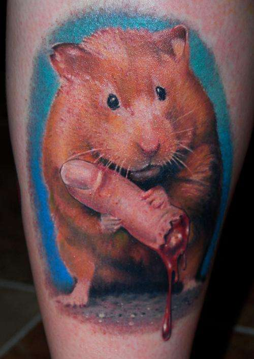 Killer Hamster Tattoos