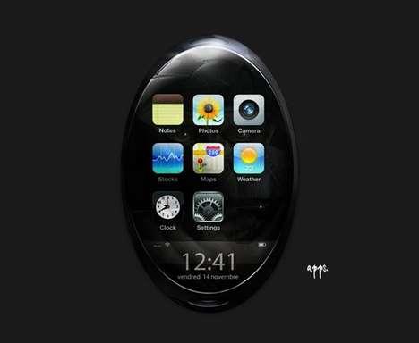 Pebble-Shaped Phones